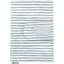 Protège carnet de santé rayé bleu blanc