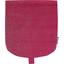 Tapa de mini bolso cruzado fucsia plateado - PPMC