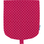 Flap of small shoulder bag fuschia spots - PPMC