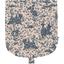 Tapa de mini bolso cruzado  tela de jouy azul marino - PPMC