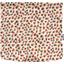 Square flap of saddle bag  confetti aqua - PPMC