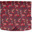 Square flap of saddle bag  vermilion foliage - PPMC