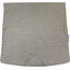 Square flap of saddle bag  silver linen - PPMC