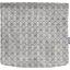 Rabat besace carré grand pointillé bleu cuivré - PPMC