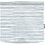 Rabat besace carré grand rayé bleu blanc - PPMC