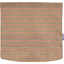 Square flap of saddle bag  bronze copper stripe  - PPMC