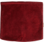 Square flap of saddle bag  red velvet - PPMC
