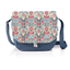 Flap of saddle bag azulejos