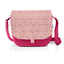 Flap of saddle bag pink jasmine