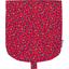 Rabat petite besace pompons cerise