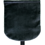 Flap of small shoulder bag navy velvet - PPMC