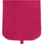 Flap of saddle bag fuschia spots - PPMC