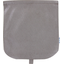 Flap of saddle bag suédine taupe