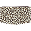 Flap of fashion wallet purse leopard print