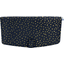 Flap of shoulder bag navy gold star