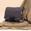 Rabat sac compagnon  paille dorée noir