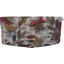 Flap of shoulder bag wax flowery - PPMC