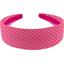 Wide headband etoile or fuchsia - PPMC