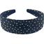 Wide headband etoile or marine  - PPMC