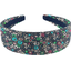 Wide headband green azure flower - PPMC
