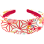 Wide headband flowers origamis  - PPMC