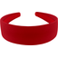 Wide headband red