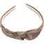 bow headband copper linen - PPMC