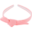 bow headband vichy peps - PPMC