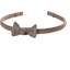 Thin headband copper linen - PPMC