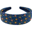 Wide headband glittering heart - PPMC