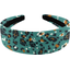 Wide headband jade panther - PPMC