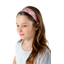 Wide headband purple meadow