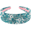 Wide headband celadon violette - PPMC