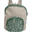 Petit sac à dos  fleuri kaki - PPMC