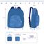 Children rucksack jean verso