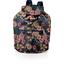 Petit sac à dos plastifié dahlia rose marine - PPMC