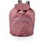 Petit sac à dos plastifié lichen prune rose - PPMC