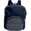 Children rucksack striped silver dark blue - PPMC