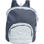 Children rucksack striped blue gray glitter - PPMC