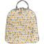 Foldable rucksack  pastel drops