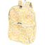 Sac à dos pliable mimosa jaune rose - PPMC