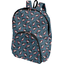 Foldable rucksack  flowered night - PPMC