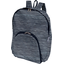 Foldable rucksack  striped silver dark blue - PPMC