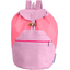 Children rucksack fuschia gingham