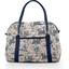 Sac bowling  toile de jouy marine - PPMC