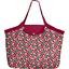 Grand sac cabas cerisier rubis jade - PPMC