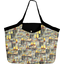 Grand sac cabas  vintage - PPMC
