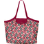 Pleated tote bag - Medium size ruby cherry tree - PPMC