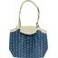 Petit sac cabas plissé elephant jean - PPMC