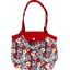 Petit sac cabas plissé fleurs du mékong - PPMC